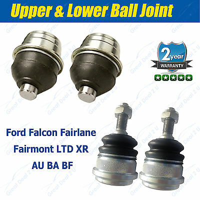 Ford Falcon AU BA BF Front Upper & Lower Ball Joints Fairlane Fairmont LTD XR