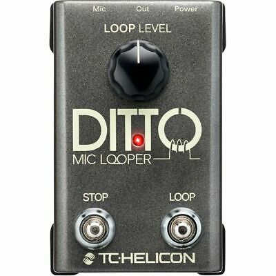 TC Helicon Ditto Mic Looper Vocal Effects Pedal