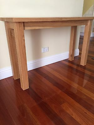 Solid Timber Lamp/coffee tables and hall stand