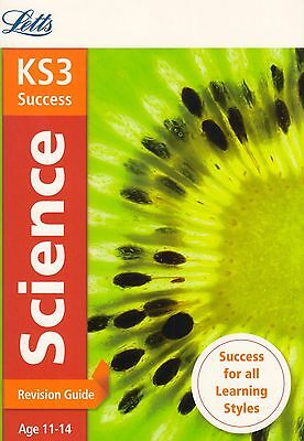 Letts KS3 Success Science Revision Guide Age 11-14 BRAND NEW BOOK (P/B 2014)