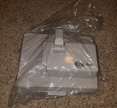 SEBO DUO 84 DRY CARPET CLEANER/PILE LIFTER FLOOR SCRUBBER powerhead only patys