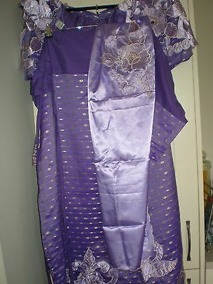 Traditional Stunning African Women's/ladies 4 Piece  Outfit Size 22