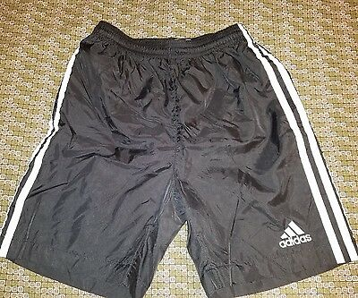 EUC Boys ADIDAS black swim trunks swimsuit  Size 10-12