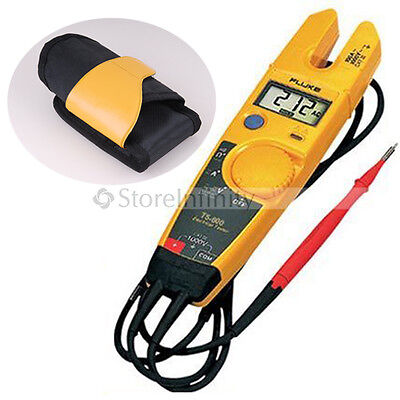 FLUKE T5-600 & Holster Continuity Current Electrical Tester