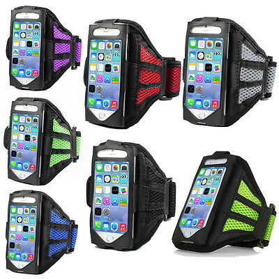 Premium Running Jogging Sports Mesh Armband Gym Case Cover For iPhone SAMSUNG gb