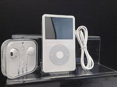 Apple iPod Classic Video 5th 5.5th Generation White (80GB) - PRISTINE (New batt)