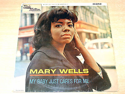 Mary Wells/My Baby Just Cares For Me/1964 Tamla Motown Mono LP
