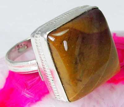 Mookaite 925 Sterling Silver Handmade Beautiful Ring Size P H17-5123