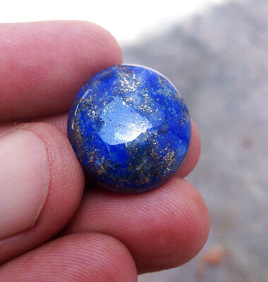 Oval 20X19mm Real Lapis Lazuli Gemstone 24.95 Ct.