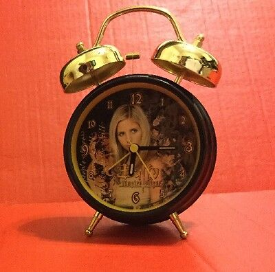 Buffy The vampire Slayer Alarm Clock - Twin Bell, Playworks, 90's, Collectable