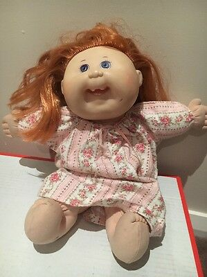 First Edition Mattels cabbage patch doll Strawberry Blonde Silky Hair