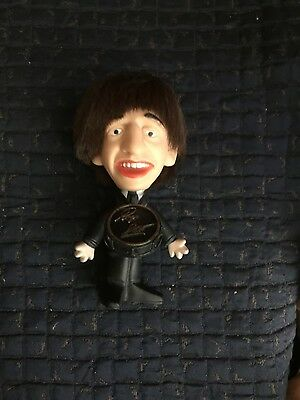 Vintage 1964 Remco Beatles Doll, Ringo Beatles  Doll , Hard Body, With Drum,