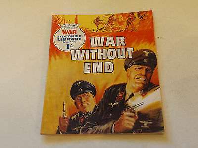 WAR PICTURE LIBRARY NO 353!,dated 1966!,V GOOD for age,great 51!YEAR OLD issue.