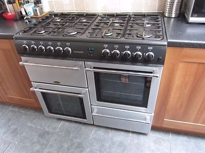 Belling Country Chef 100Cm Dual Fuel Range Cooker Oven Gas Electric Delivery