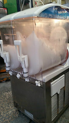 Italian slush machine 2X12L