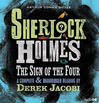 Sherlock Holmes-The Sign Of The Four-4 Cd Audio Book  Brand  New Sealed
