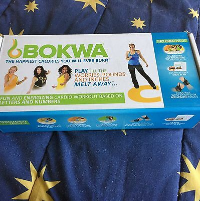 Bokwa Fitness DVDs And Weights