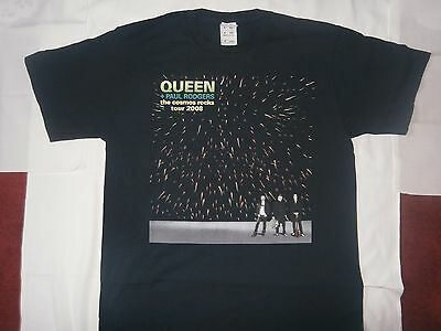 Rare - QUEEN - T-Shirt from The Cosmos Rocks Tour 2008 - Size Medium