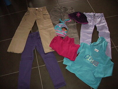 Bundle Of Girls Clothes - Size 7 - Pumpkin Patch, Bonds, Etc