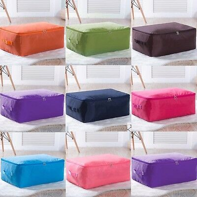 Large Storage Bag Box Clothes Duvet Laundry Pillow Bedding Blanket Under Bed HOT
