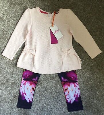 Ted Baker - Girls - 2 Piece Set - Top & Leggings (4-5 Years) BNWT
