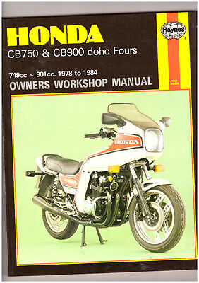 Honda Cb750K Cb750F Cb750C Cb900F/f2 Haynes Manual 78-84 Clean ,free Post