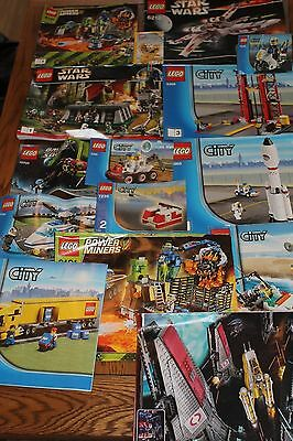 Genuine LEGO - A Massive 10.5Kg of Mixed Lego Plus over 50 Instruction Booklets