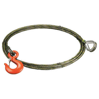 LIFT-ALL Winch Cble Extension,3/8 In. x 35 ft., 38WEIX35, Natural