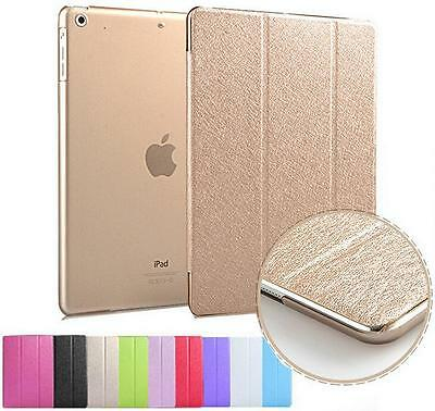 For Apple iPad2 3 4 5 mini1 2 3dAir 2Luxury Slim Smart Wake Leather Case Cover
