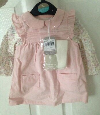 baby girl 3 Piece Set clothes 0-3 months