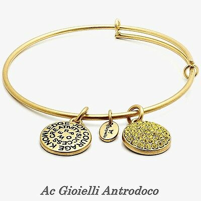 Chrysalis Bracciale Citrino Novembre Citrine Expandable Bangle gold Good Fortune