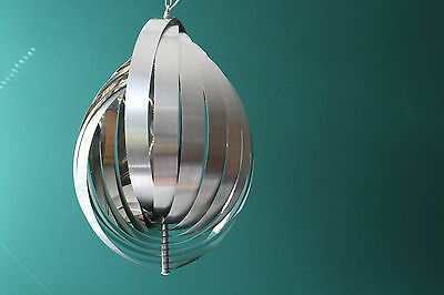 Suspension Moon Phase Pendant Lamp Hängelampe Design Henri Mathieu 70's Sauze
