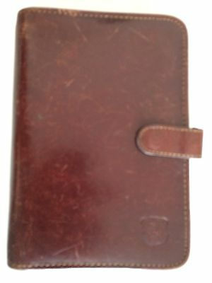 Brown Leather Personal Organiser Fits Filofax Personal