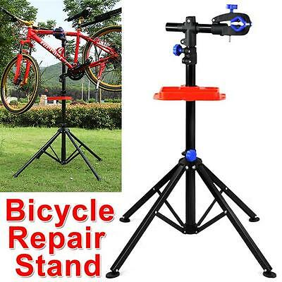 Adjustable Foldable  Bicycle Bike Maintenance Mechanic Repair Stand Work UK NEW