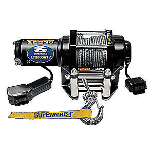 SUPERWINCH ATV/UTV Electric Winch,1-1/5HP,12VDC, 1130220