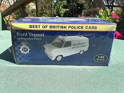 Atlas Editions: Ford Transit (Met Police) 1:43
