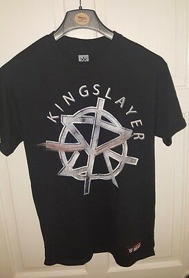 WWE Seth Rollins Kingslayer Burn It Down Official Authentic T-Shirt Medium