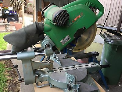 Hitachi drop saw and bench-Made in Japan
