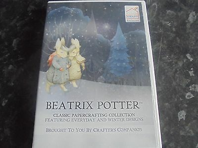 beatrix potter,classic papercrafting collection, papercraft cd rom,1 disc