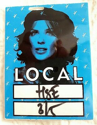 Kylie Minogue Laminated Backstage Pass Fever Tour Blue