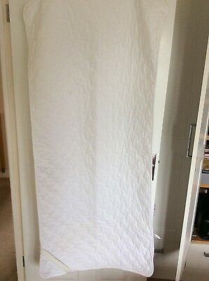 John Lewis Cot Bed mattress Protector.