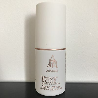 Alpha H  - Liquid Gold ROSE 50ml - Concentrated Skincare - Limited Edition