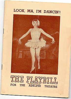 Lot of 8 Playbills; 1940's; Good+ to Very Good; Oklahoma, Brigadoon;Showboat;etc