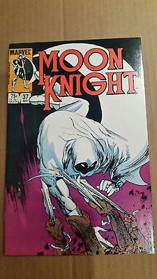 Moon Knight #37 Nm 1984 Mike Kaluta  Htf Final Issues High Grade