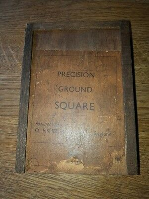 precision ground square o.fisher & co