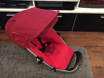 Quinny Buzz 3/4 Seat Unit In Red Model 2012 New Style