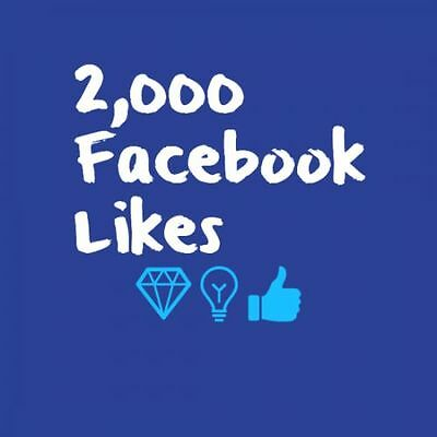 2000 (2K) Facebook/Business Fan Page/Likes - 100% Safe