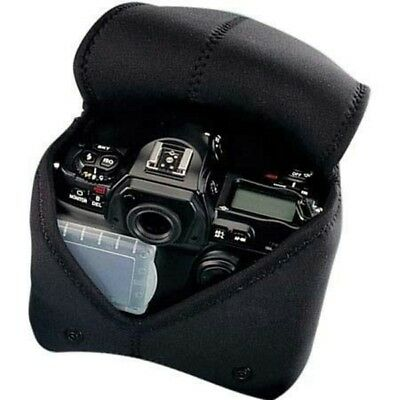 Op/Tech 8201114 Neoprene Soft Pouch Body Cover for Manual Focus SLR Bodies-Black