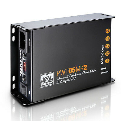 Palmer PWT 05 MK2 - Pedalboard Power Supply