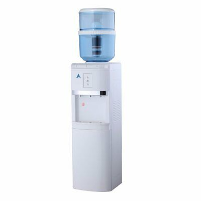 NEW Water Cooler Heater Awesome H20 Filter Dispenser White Free Standing